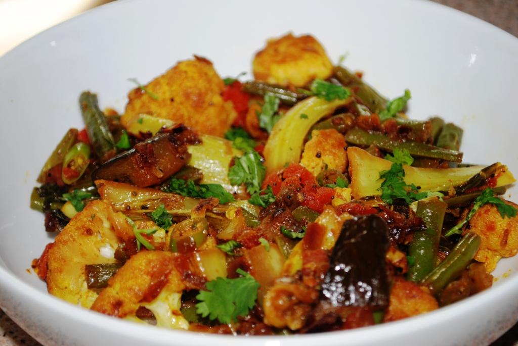 Medley of vegetable sabji !